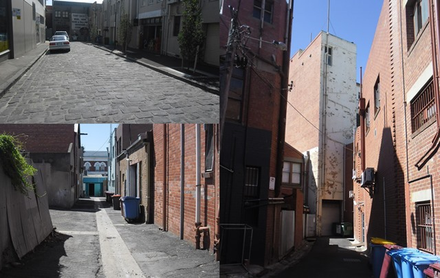 Geelong Laneways spaces